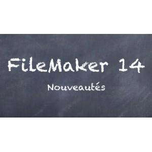 Nouveautés de FileMaker 14