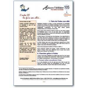 105 Index (2) Faire de l'index son allié