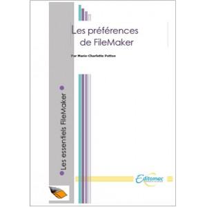 Les préférences de FileMaker