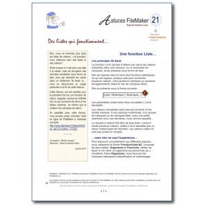 21 Fonction Liste