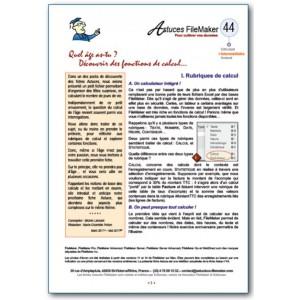 44 Fonctions de calcul (1)