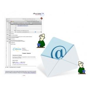 1 Créer et envoyer un pdf par email