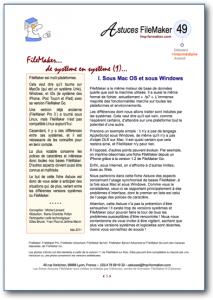 Fiche Astuce FileMaker 49