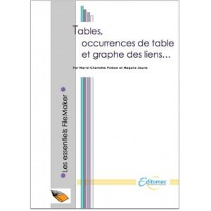 Tables, occurrences de table et graphe des liens
