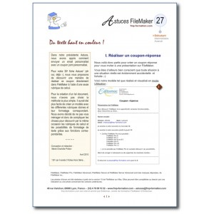 27 Fonctions formatage texte