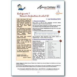 45 Fonctions de calcul (2)